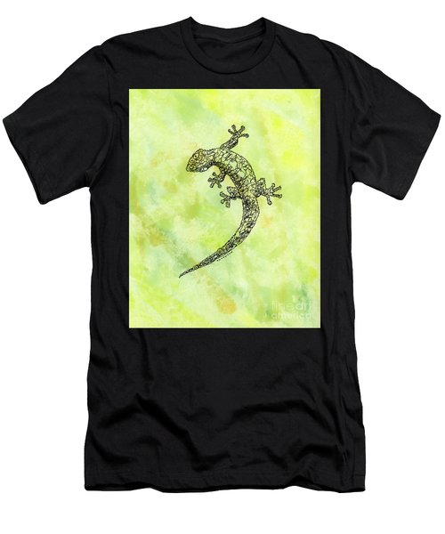 Squiggle Gecko Men's T-Shirt (Athletic Fit)