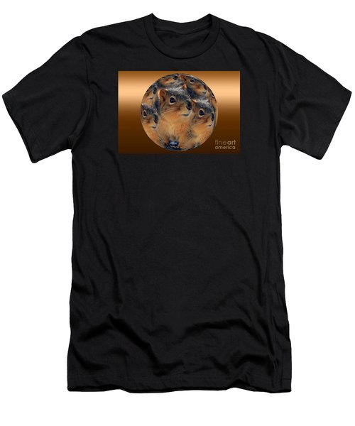 Squirrels In A Ball No. 2 Men's T-Shirt (Athletic Fit)