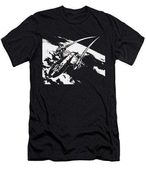 Sr-71 Flying High Men's T-Shirt (Slim Fit) by Ewan Tallentire