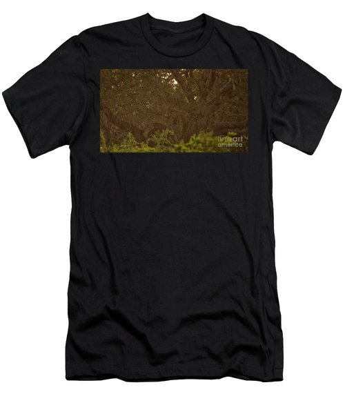 Sri Lankan Leopard And Wild Boar Men's T-Shirt (Athletic Fit)