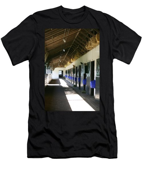 Stable Ready Men's T-Shirt (Slim Fit) by Cathy Harper