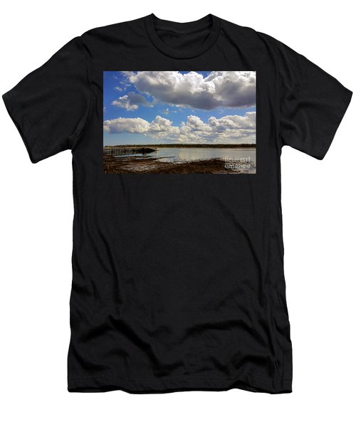 St. Andrews At Low Tide Men's T-Shirt (Athletic Fit)