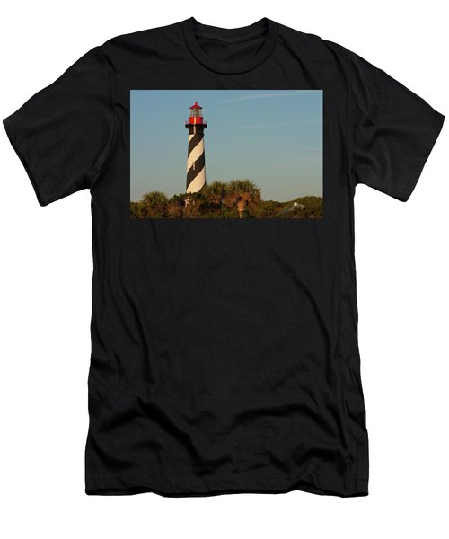 St. Augustine Lighthouse #3 Men's T-Shirt (Athletic Fit)