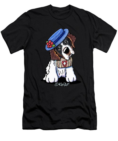 St. Bernard Men's T-Shirt (Athletic Fit)