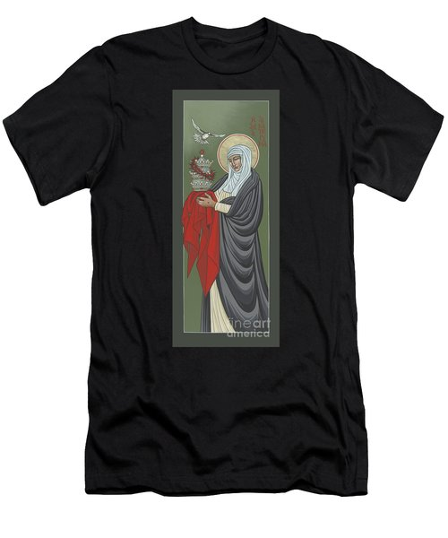 St Catherine Of Siena- Guardian Of The Papacy 288 Men's T-Shirt (Athletic Fit)