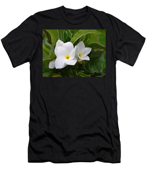 St. Cecelias' Floral Show Men's T-Shirt (Athletic Fit)