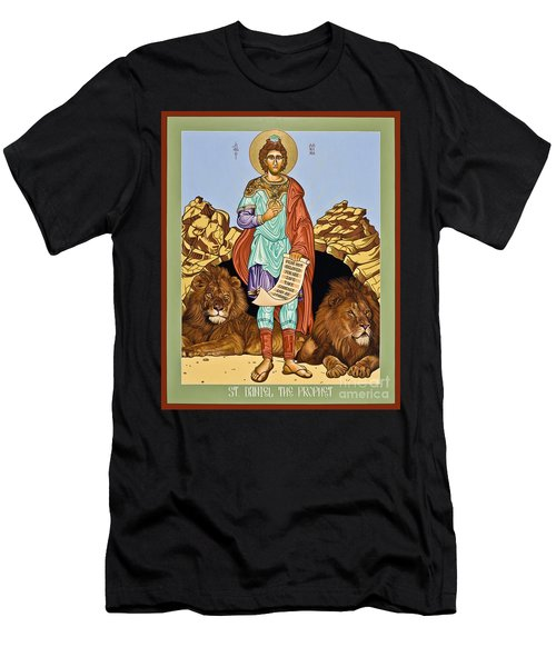 St. Daniel In The Lion's Den - Lwdld Men's T-Shirt (Athletic Fit)
