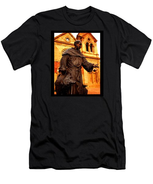 Cathedral Basilica Of St. Francis Of Assisi Men's T-Shirt (Athletic Fit)