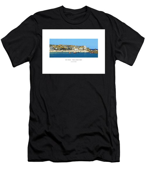 St Ives Sea And Sky Men's T-Shirt (Athletic Fit)