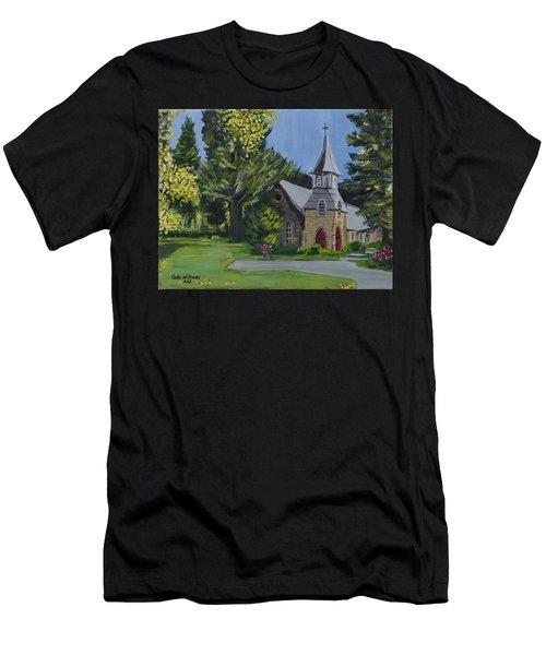 St. James Episcopal Church Men's T-Shirt (Athletic Fit)