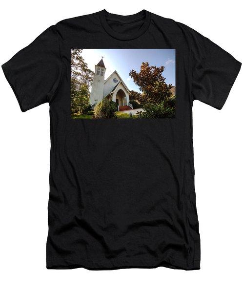 St. James V4 Fairhope Al Men's T-Shirt (Slim Fit) by Michael Thomas