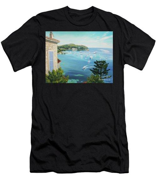 St Jean Cap Ferrat 2 Men's T-Shirt (Athletic Fit)
