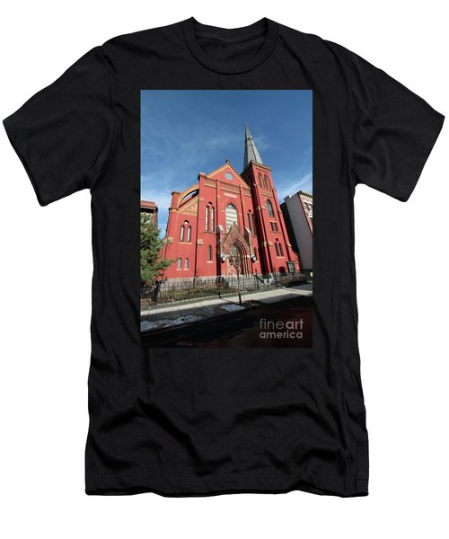St Johns Lutheran Church Men's T-Shirt (Athletic Fit)