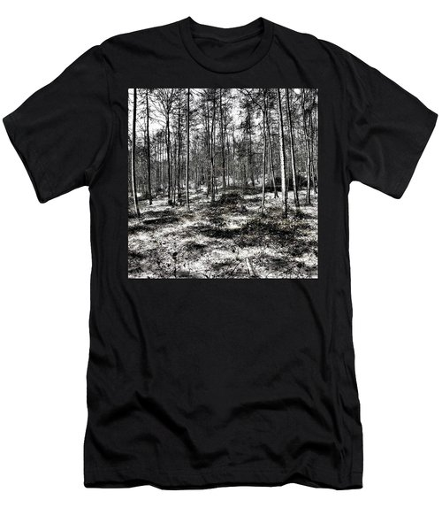 St Lawrence's Wood, Hartshill Hayes Men's T-Shirt (Slim Fit) by John Edwards