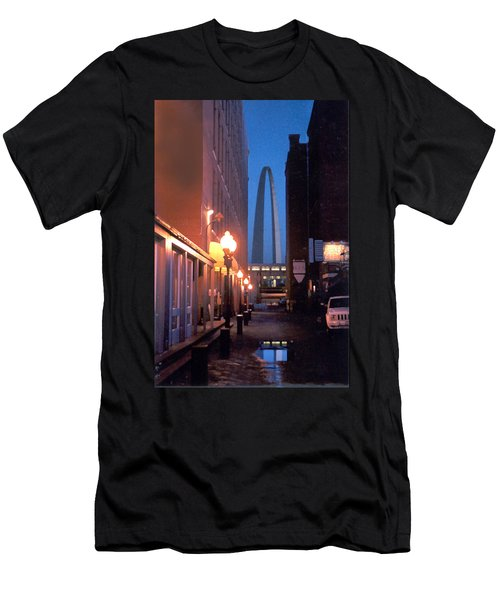 Men's T-Shirt (Slim Fit) featuring the photograph St. Louis Arch by Steve Karol