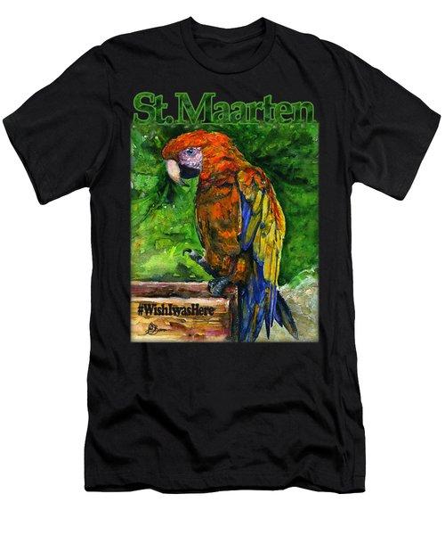 St. Maarten Shirt Men's T-Shirt (Athletic Fit)