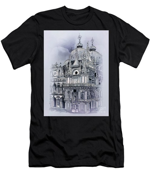 St Mark's Basilica. Men's T-Shirt (Athletic Fit)