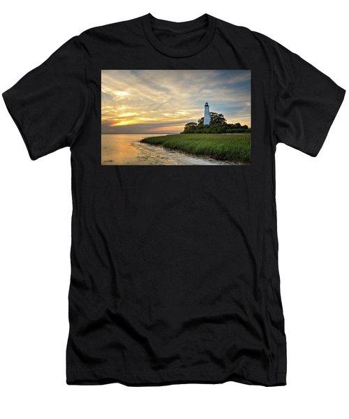 St. Mark's Lighthouse Men's T-Shirt (Athletic Fit)