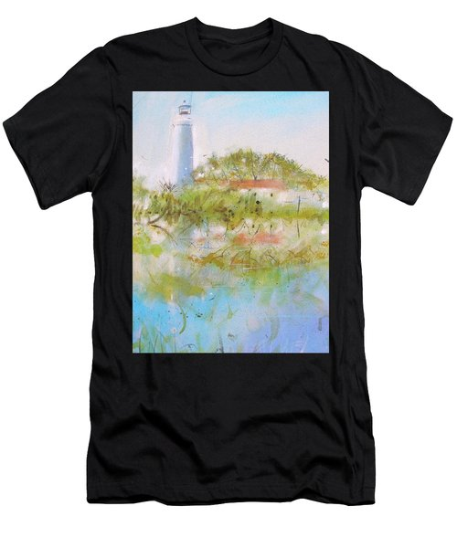 St Marks Lighthouse Men's T-Shirt (Athletic Fit)