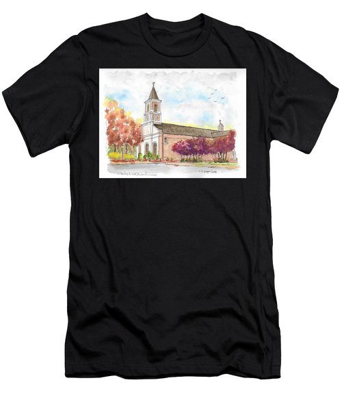 St. Martin De Tours Catholic Church, Martinville, Louisiana Men's T-Shirt (Athletic Fit)