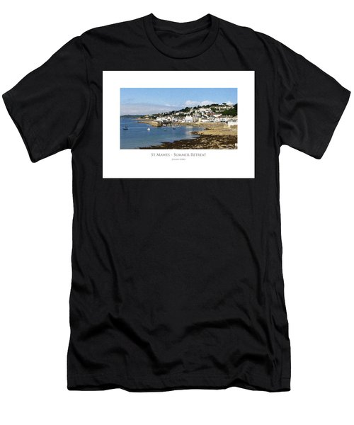 St Mawes - Summer Retreat Men's T-Shirt (Athletic Fit)