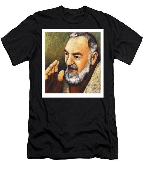 St. Padre Pio Of Pietrelcina - Jlpio Men's T-Shirt (Athletic Fit)