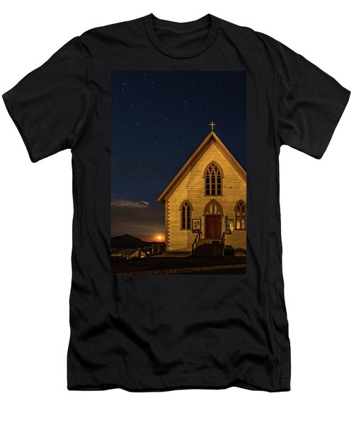 St. Paul's At Night Men's T-Shirt (Athletic Fit)