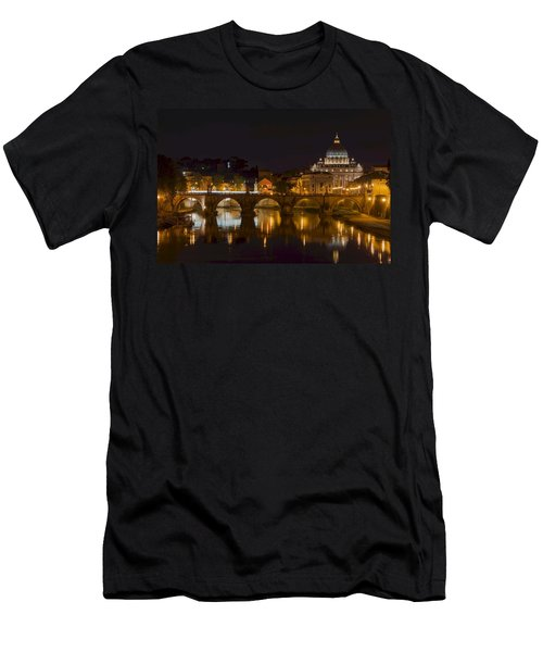 St. Peter's Basilica-655 Men's T-Shirt (Athletic Fit)