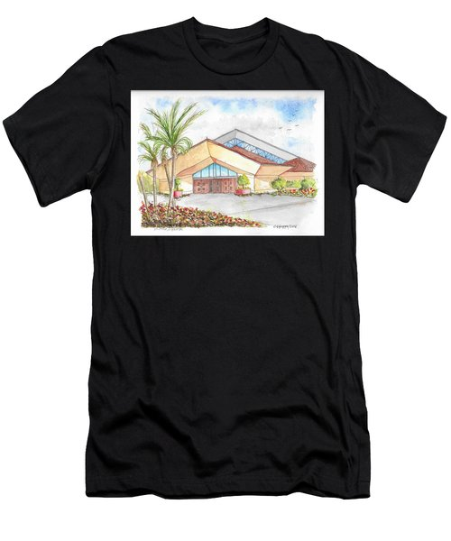 St. Peter's Catholic Church, Jupiter, Florida Men's T-Shirt (Athletic Fit)