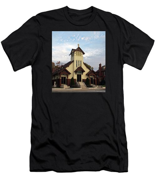 St. Rita's Church Men's T-Shirt (Athletic Fit)