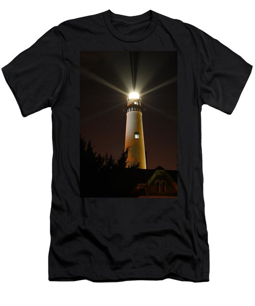 St Simons Island Lighthouse Men's T-Shirt (Athletic Fit)