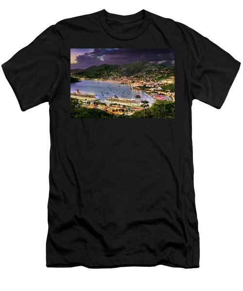 St Thomas Nights Men's T-Shirt (Athletic Fit)