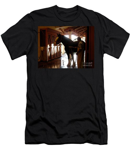 Stable Groom - 1 Men's T-Shirt (Athletic Fit)