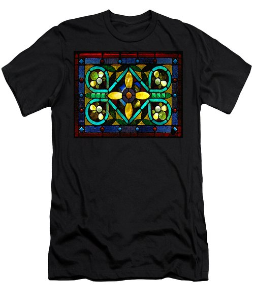 Stained Glass 1 Men's T-Shirt (Athletic Fit)