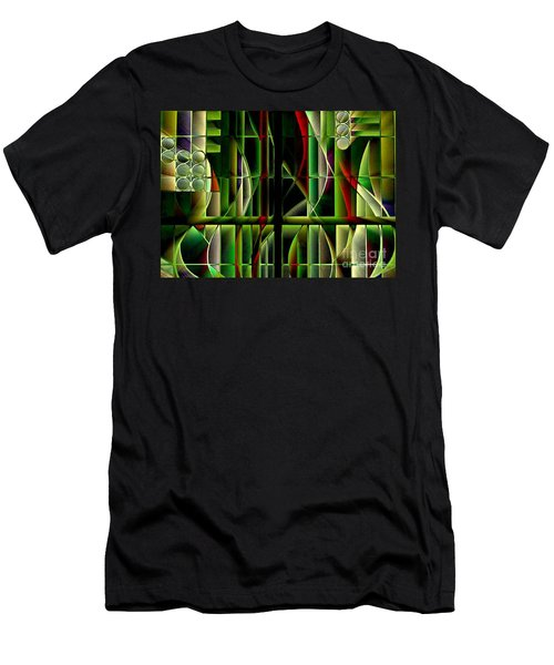 Stained Glass 2 Men's T-Shirt (Athletic Fit)