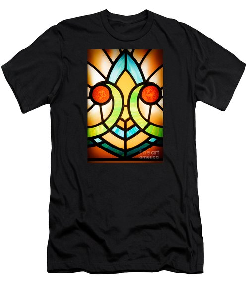 Stained Glass Detail Men's T-Shirt (Athletic Fit)