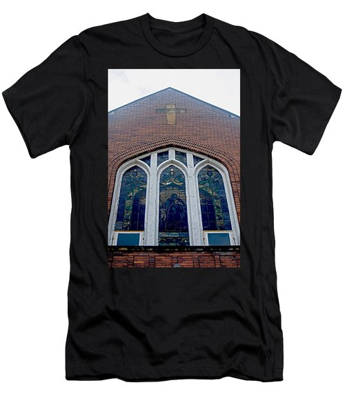 Stained Glass Men's T-Shirt (Athletic Fit)