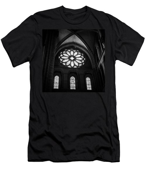 Stained Glass, St.peter's Cathedral Men's T-Shirt (Athletic Fit)