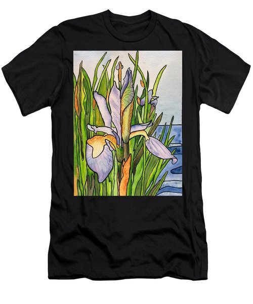 Stained Iris Men's T-Shirt (Athletic Fit)