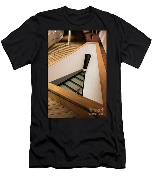 Staircase In Elbphiharmonic Men's T-Shirt (Athletic Fit)