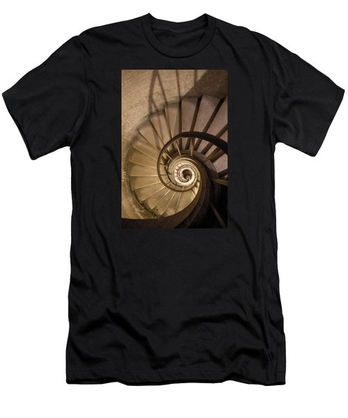 Stairs To The Paris Pantheon Crypts Men's T-Shirt (Athletic Fit)