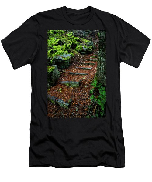 Stairway To..... Men's T-Shirt (Athletic Fit)