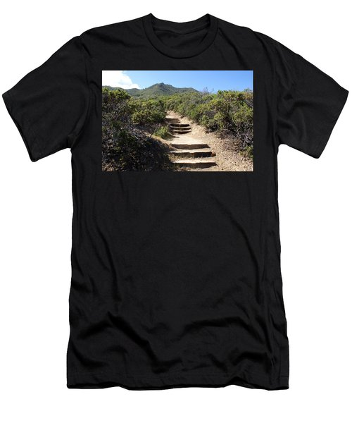 Stairway To Heaven On Mt Tamalpais Men's T-Shirt (Athletic Fit)