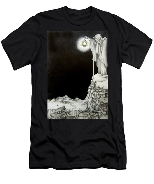 Stairway To Heaven Men's T-Shirt (Slim Fit) by Patrice Torrillo