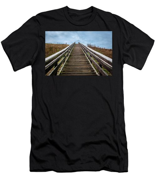 Stairway To The Sky Men's T-Shirt (Athletic Fit)