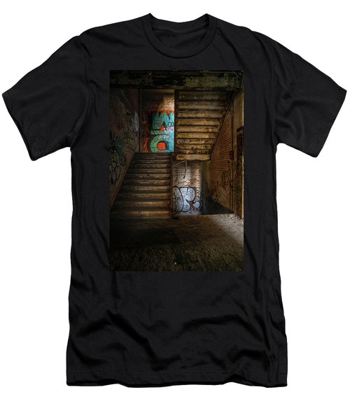 Stairwell Men's T-Shirt (Athletic Fit)