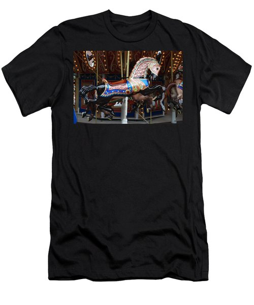 Men's T-Shirt (Slim Fit) featuring the photograph Stallion by Rob Hans