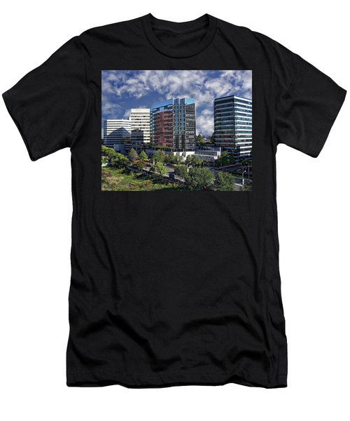 Stamford City Center Men's T-Shirt (Athletic Fit)