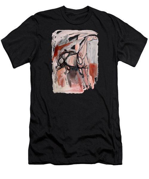 Stand Alone Bold One Men's T-Shirt (Athletic Fit)