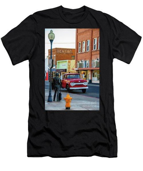 Standin On The Corner Park Men's T-Shirt (Athletic Fit)